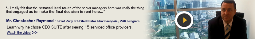 Testimonial on serviced offices Thailand, small office for rent Bangkok, & virtual office Thailand
